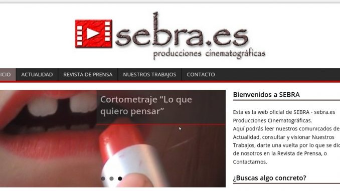 Página web de SEBRA